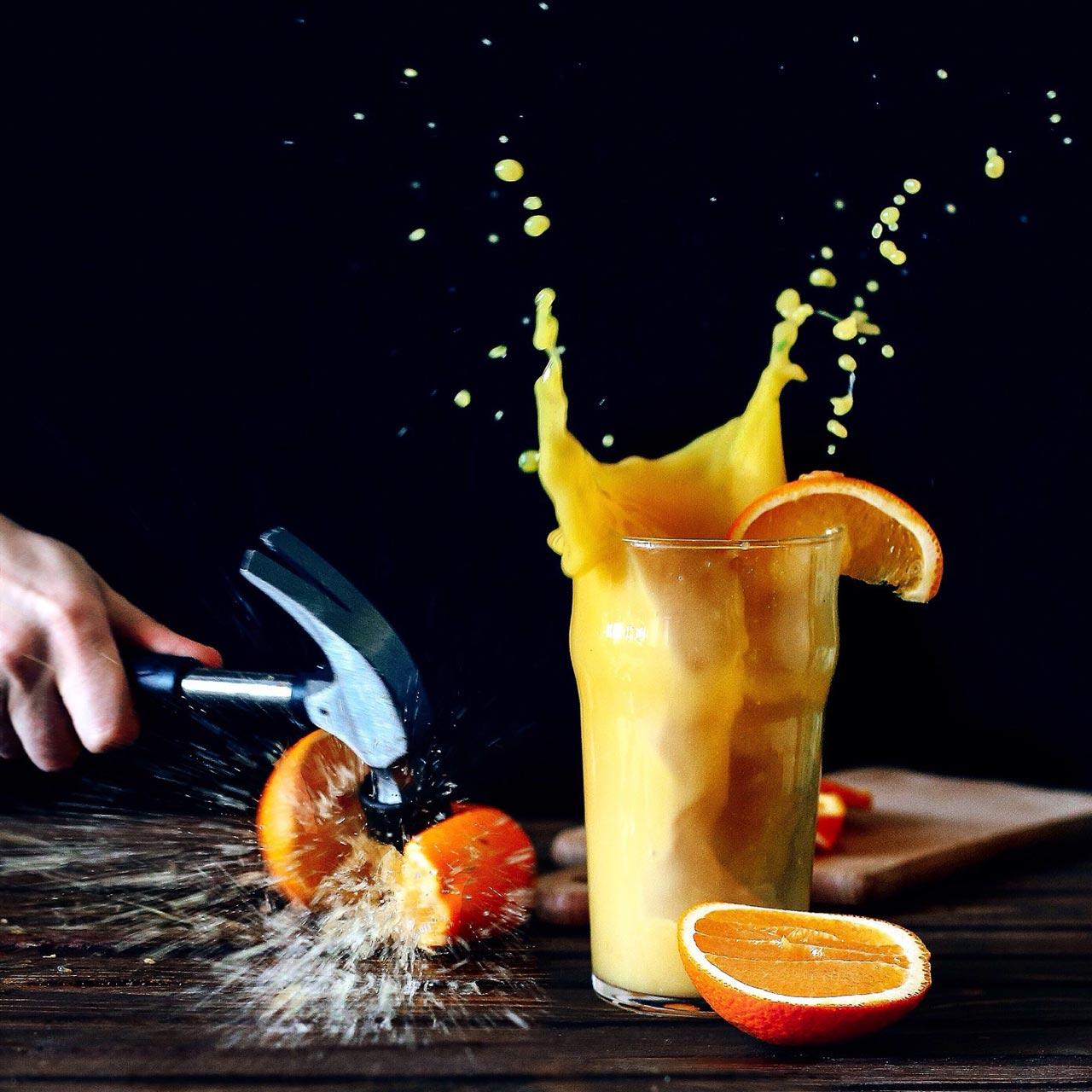 Portakal Suyunda Kopan Fırtına